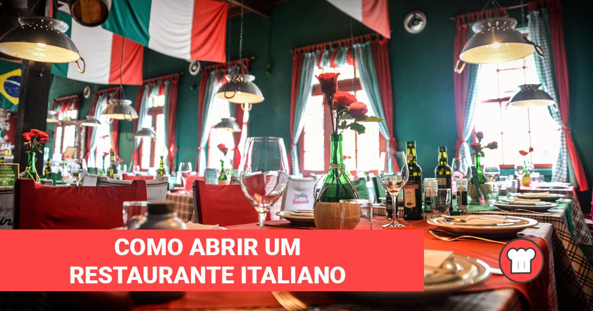 Como abrir um restaurante italiano