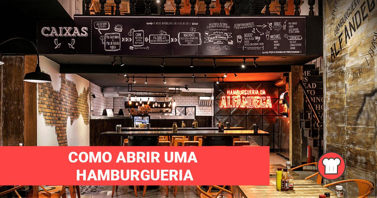 Como abrir uma hamburgueria