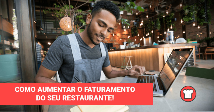 faturamento do restaurante
